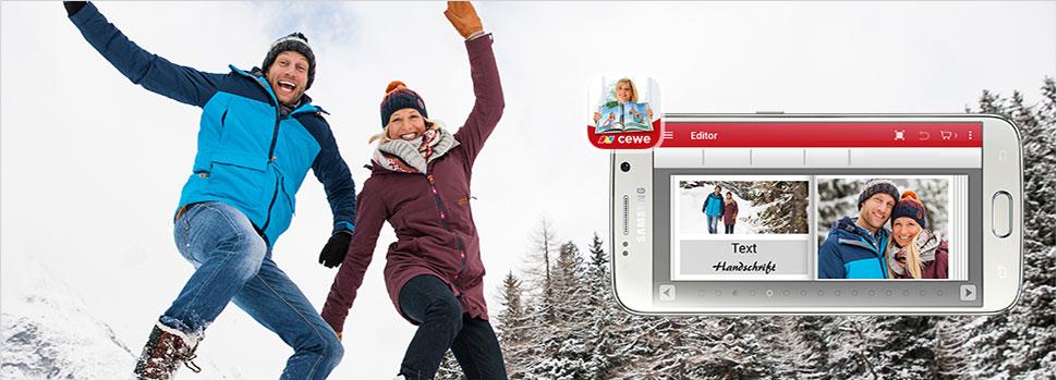 Mobilní aplikace - cewe fotosvět