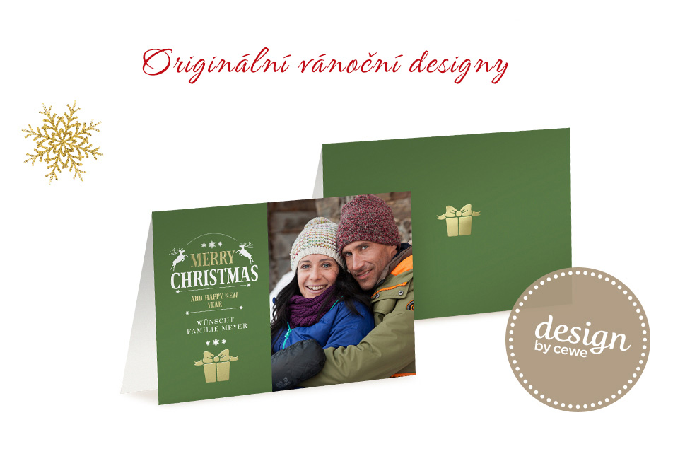 Originální vánoční designy