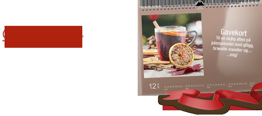 Idéer til en gavekortkalender