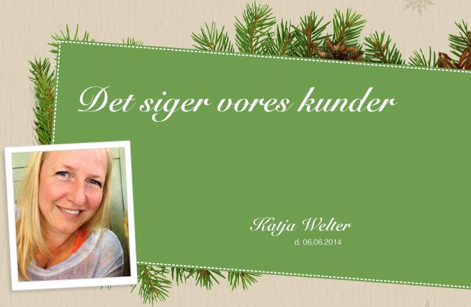 Kunde - Katja Welter