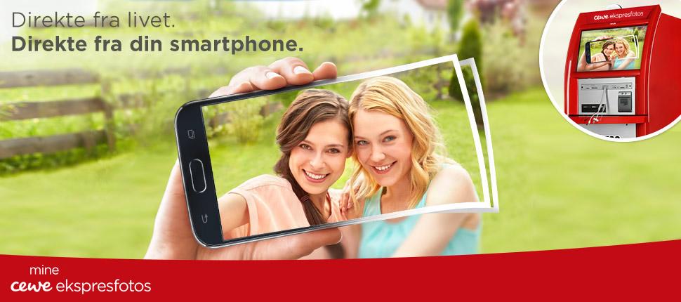 Direkte fra livet - Direkte fra din smartphone.