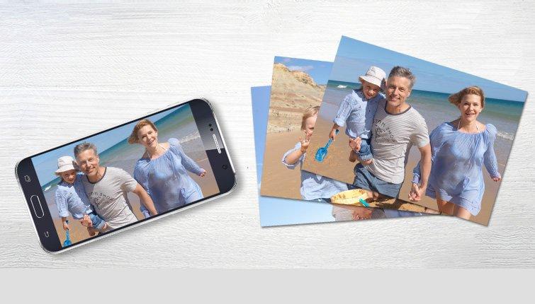Fremkald billeder via din smartphone eller tablet