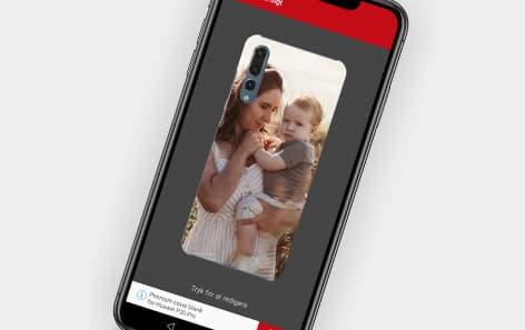 Mobilcovers i app