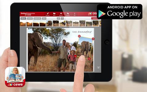 CEWE FOTOBOG App til Android