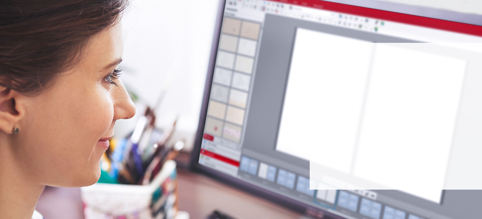 CEWE FOTOBOG Designservice