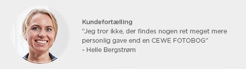 Kundefortælling Helle Bergstrøm