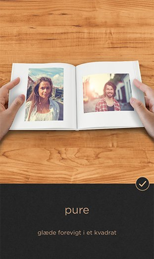 CEWE FOTOBOG Pure app - pure