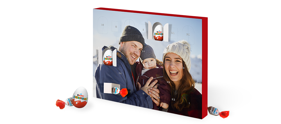 Julekalender med kinder® surprise