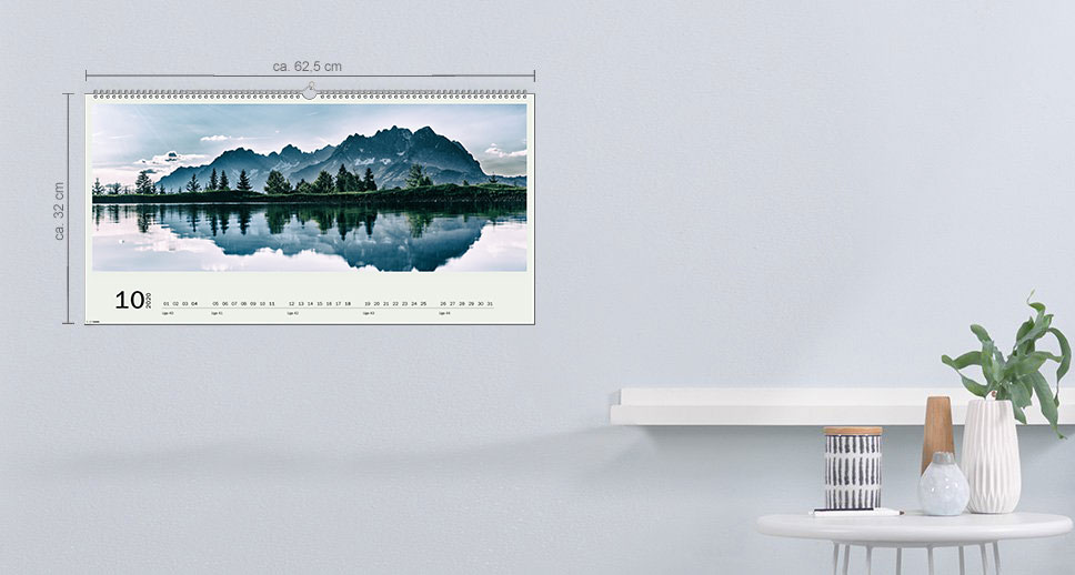 Vægkalender XXL Panorama