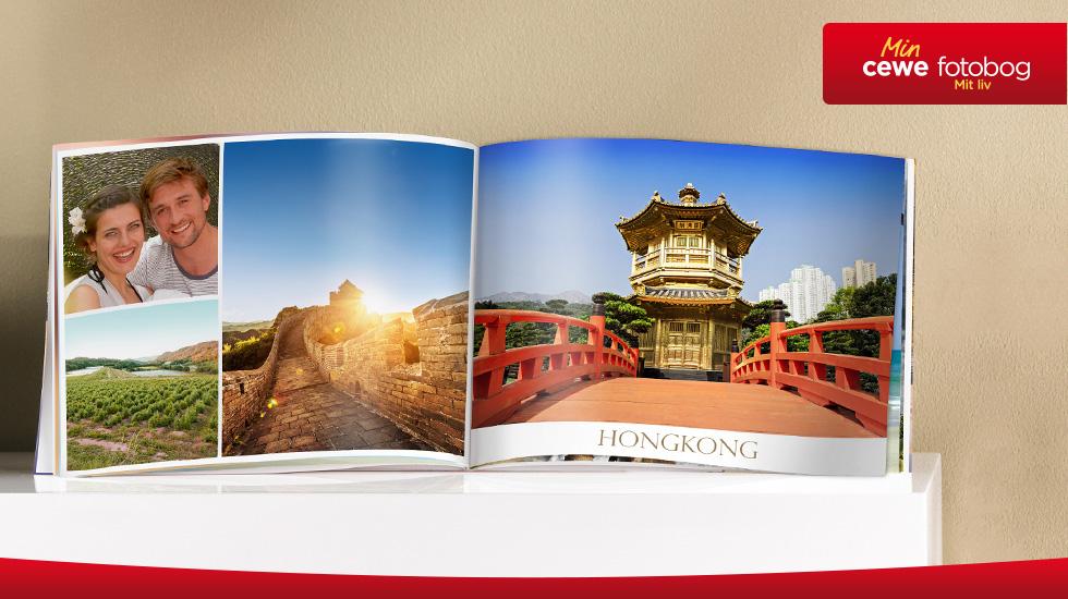 CEWE FOTOBOG Kompakt panorama