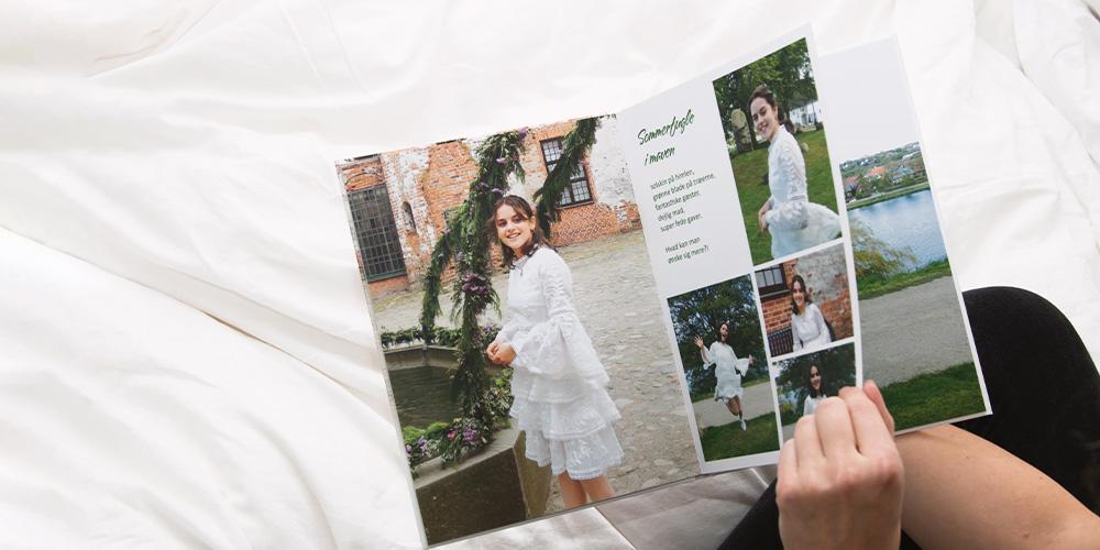 Fotobogen om festen – download vores designskabelon