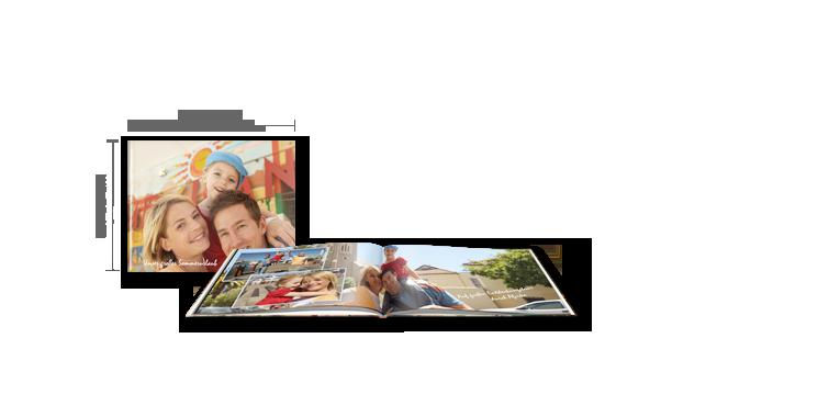 Fotobog Kompakt tværformat: Hardcover >>