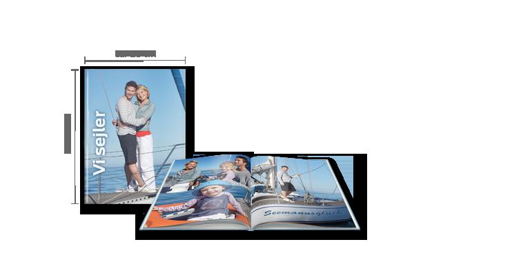 Fotobog Stor: A4 Hardcover-indbinding >>