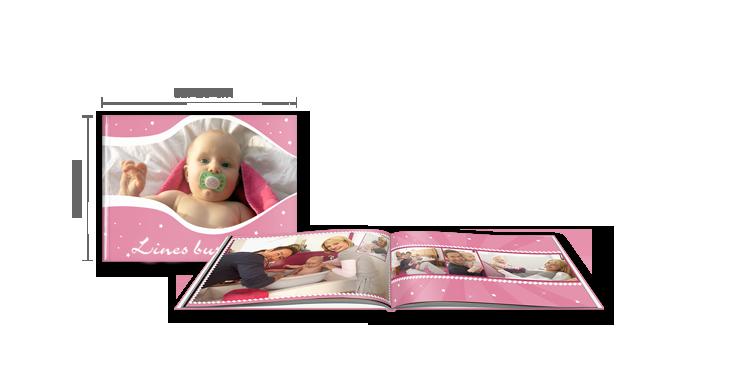 Fotobog Stor Tværformat: Hardcover-indbinding