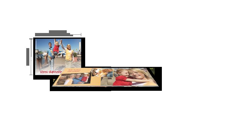 Fotoalbum Kompakt tværformat: Mat fotopapir >>
