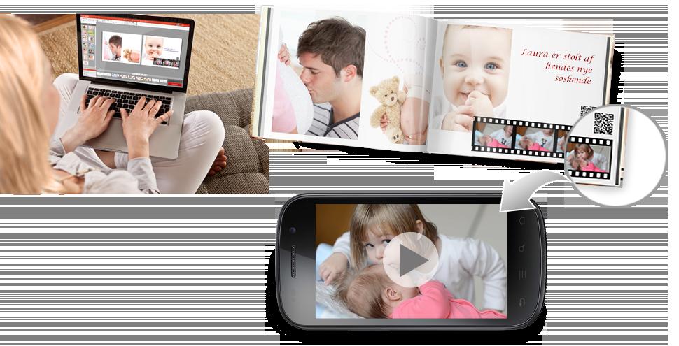 VIDEOER  i CEWE FOTOBOGEN