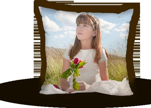En bra present särskilt till mamma, mormor och farmor: En helt personlig kudde med bild