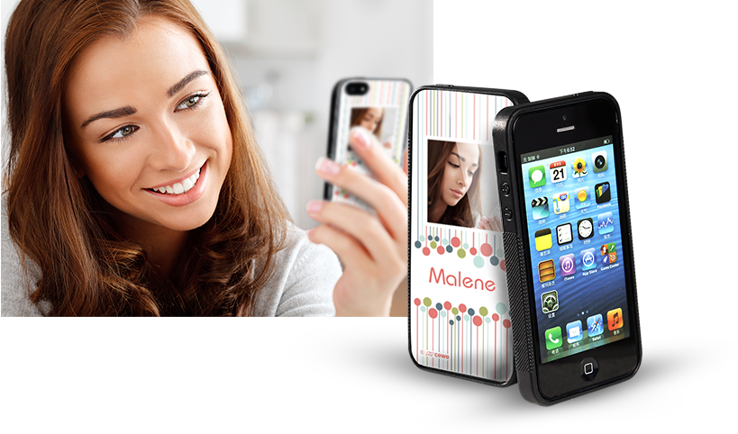 Beskytter og pynter: Vores iPhone® 5 cover