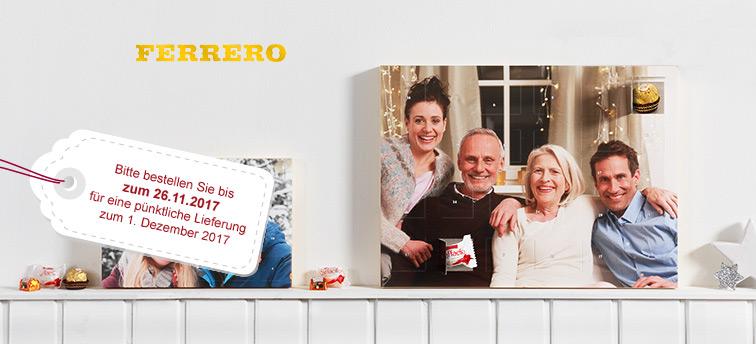 Premium Adventkalender mit Ferrero Pralinen