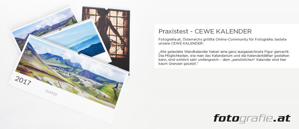 Praxistest – CEWE KALENDER