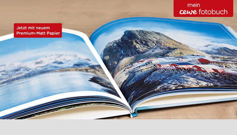 CEWE FOTOBUCH im Digitaldruck Premium-Matt