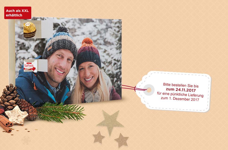 Premium-Adventkalender mit Ferrero Pralinen