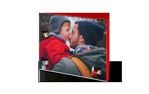 Schoko-Adventkalender mit Produkten von kinder®