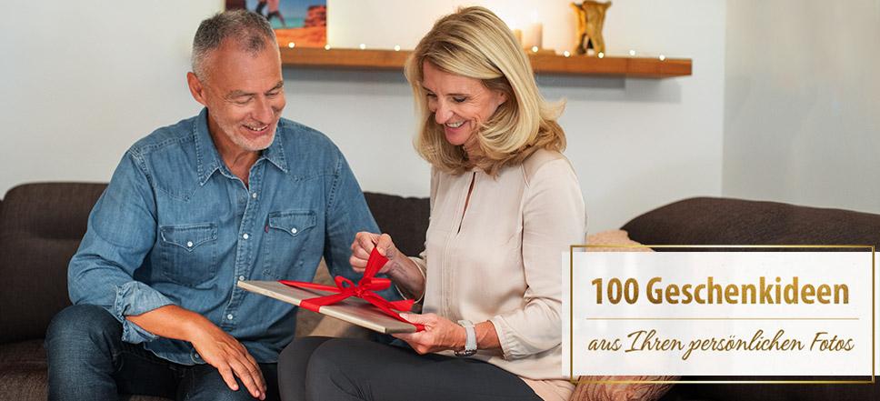 100 Geschenkideen aus Ihren persönlichen Fotos