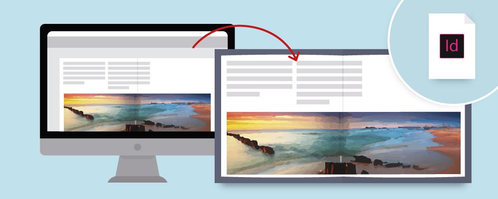 Mit dem Vorlagen-Generator und Adobe® InDesign® zu Ihrem CEWE FOTOBUCH