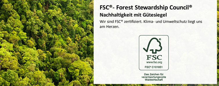 FSC Nachhaltigkeit