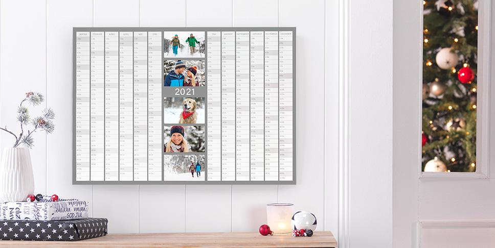 Jahresplaner mit Ihren Fotos