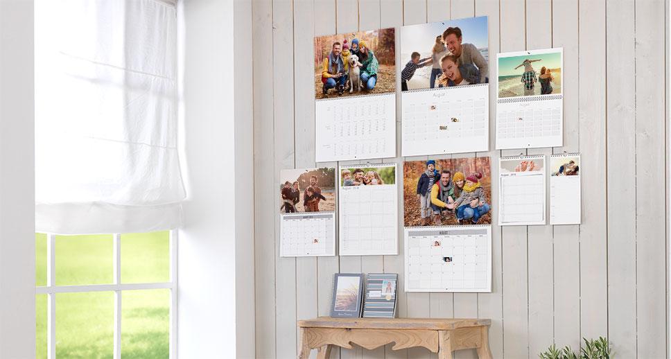 Praktische Fotokalender für Ihre Termine