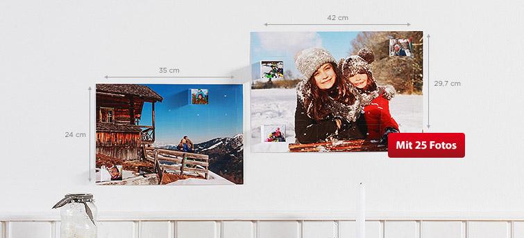 Gestalten Sie Ihren Foto-Adventskalender für Ihre Liebsten