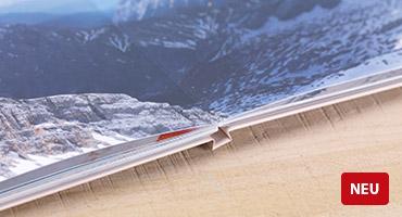 NEU: Digitaldruck Premium-Matt Lay-Flat-Bindung