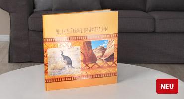 NEU: vollflächige Effektlackveredelung für Ihren Hardcover-Einband