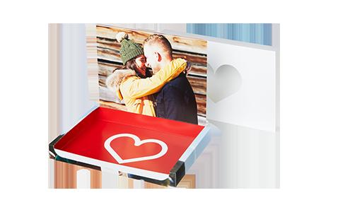 Foto-box di San Valentino da riempire