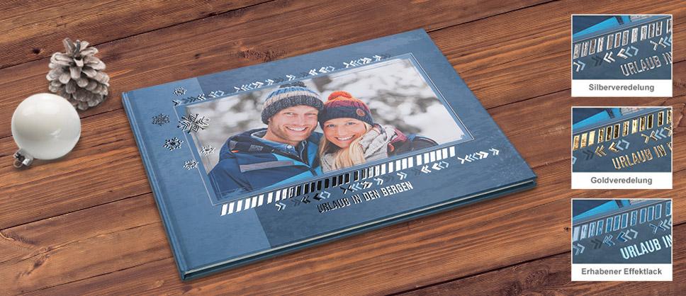 NEU: Stilvolle Veredelung für Ihr CEWE FOTOBUCH Cover