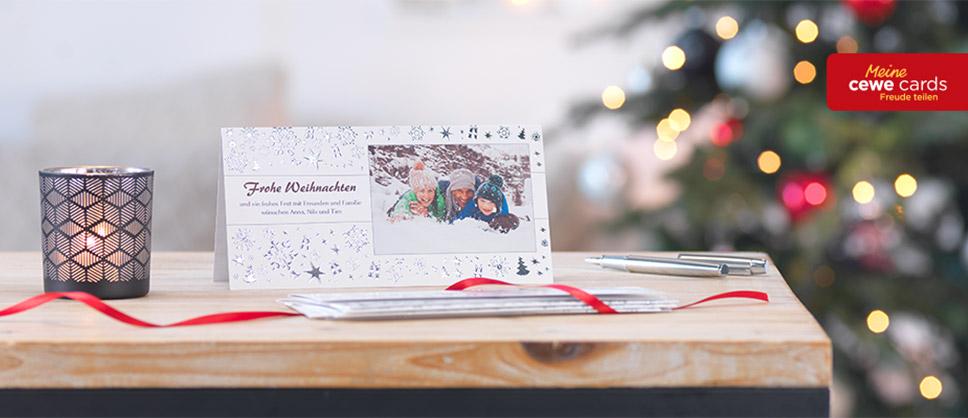 CEWE CARDS - Individuelle Weihnachtsgrüsse