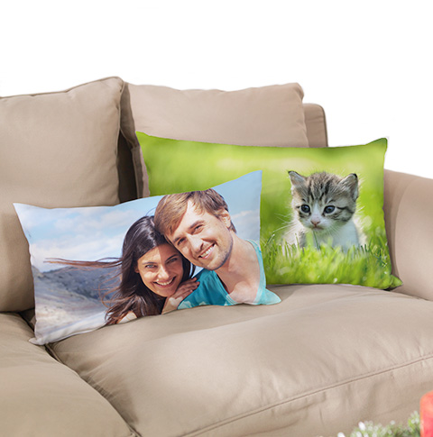 Tyynynpäällinen ja tyyny