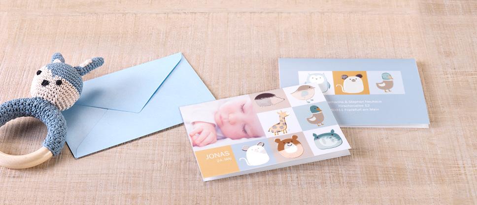Grußkarten, Einladungen & mehr