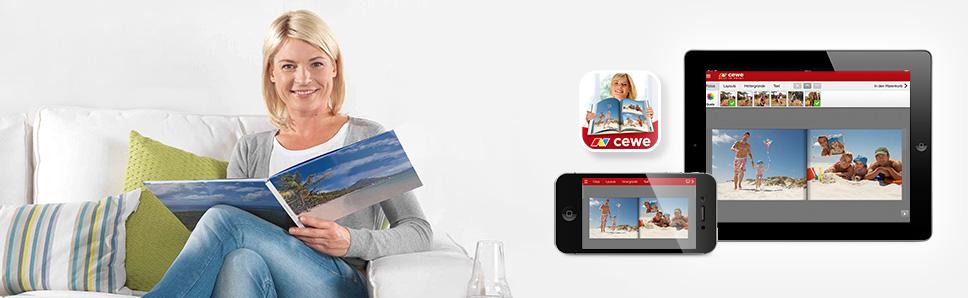 CEWE Fotowelt App fur Ihre Smarphones und Tablets