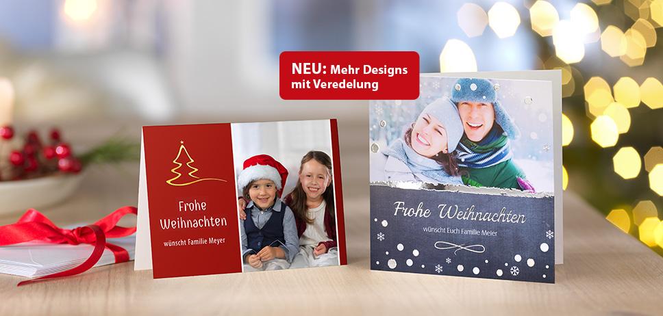 Weihnachtskarten, Grußkarten & mehr