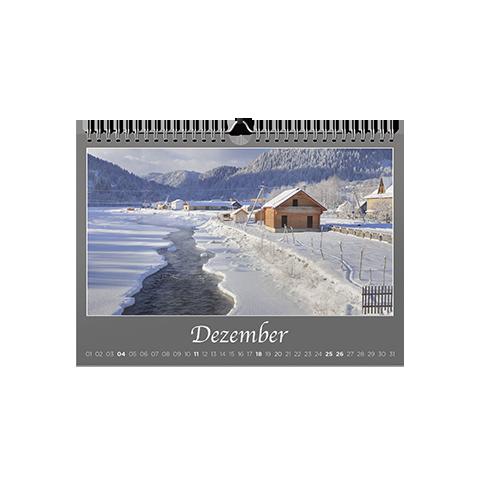 Wandkalender A5 Panorama