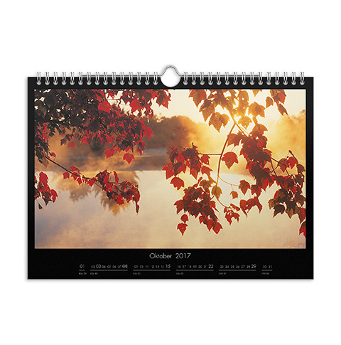Wandkalender A4 Premium Matt
