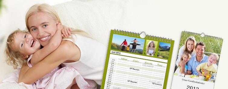 Calendar de familie A4 tip agendă  - Cewe.ro