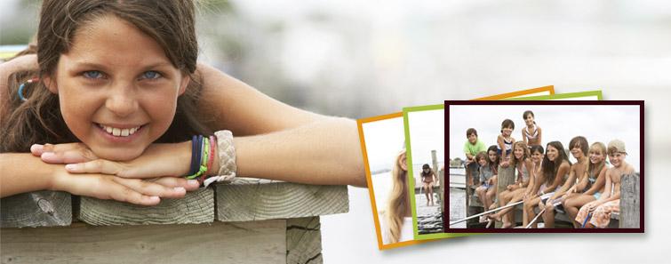 Fotografii cu cadru colorat