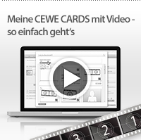 Meine CEWE CARDS mit Video