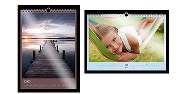 Seinäkalenteri A3 valokuvapaperilla