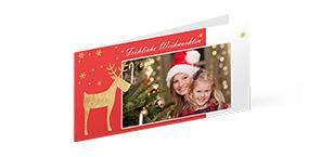 Kerstkaarten set van 10 - perfect voor de beste wensen die mensen zullen verrassen