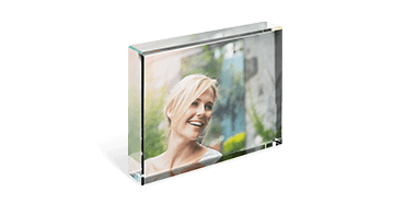 Glass Photo Block
